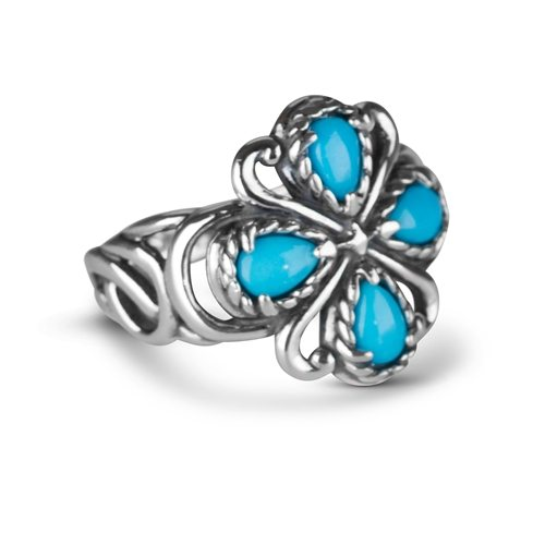 Sterling_Silver_&_Sleeping_Beauty_Turquoise_Four_Stone_Ring