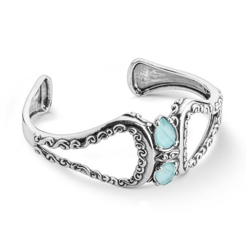 Sterling_Silver_and_Turquoise_Doublet_Cuff_Bracelet