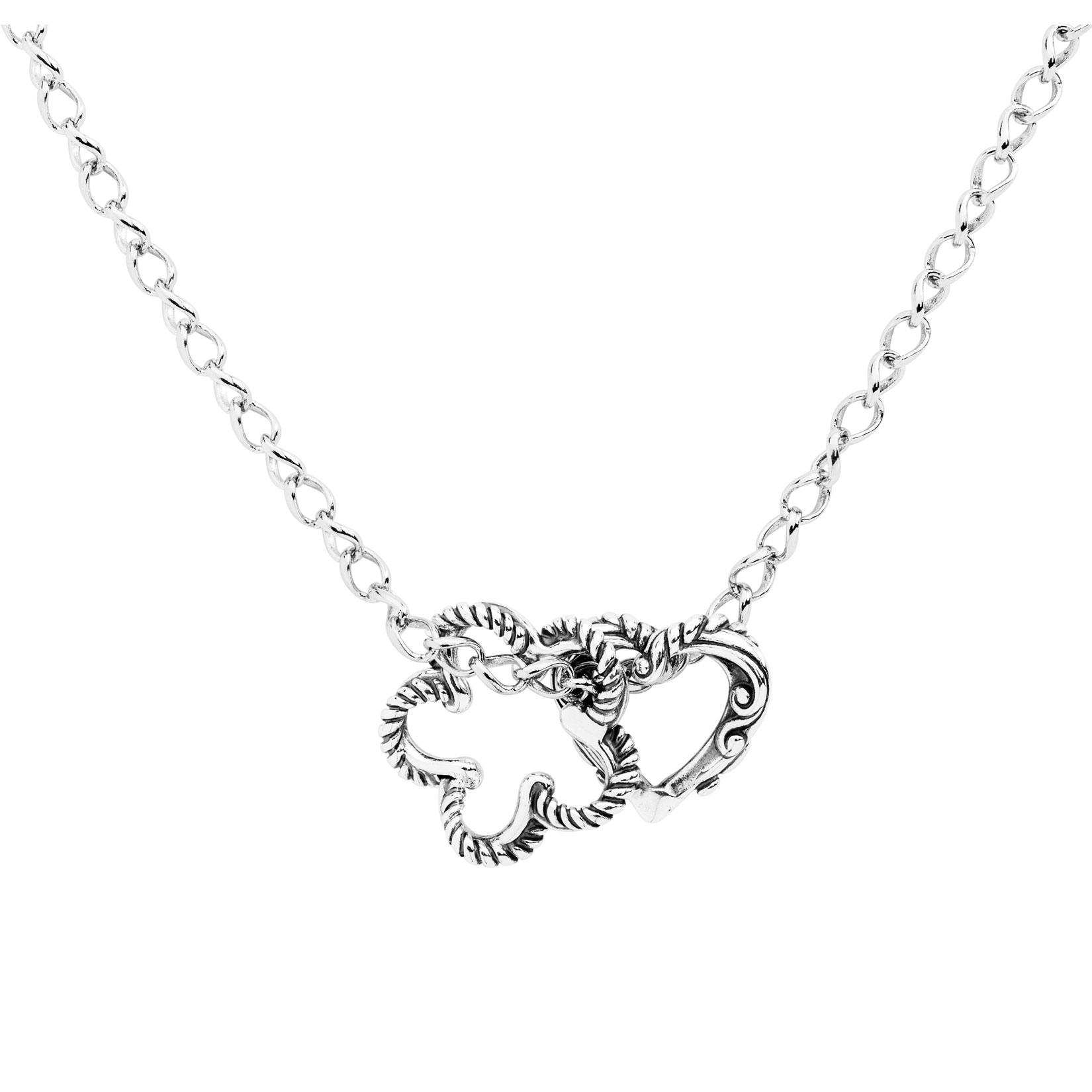 Lasting_Connections_Sterling_Silver_Heart_and_Flower_Necklace
